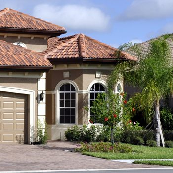 Typical single family home in Florida